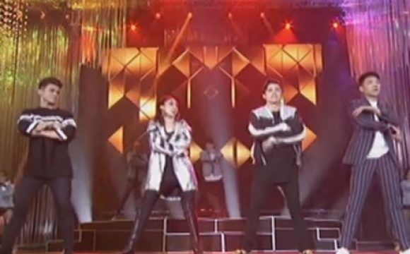 Sarah Geronimo, James Reid, Inigo Pascual, and Darren Espanto's Memorable Performance