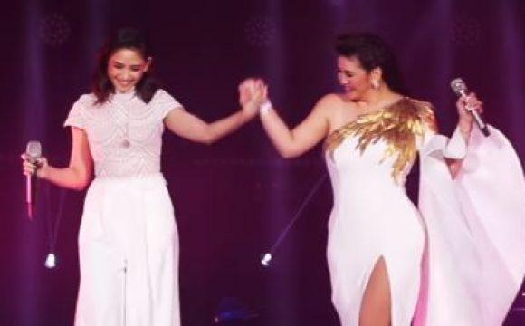 WATCH: Regine Velasquez and Sarah Geronimo reunite on the concert stage!