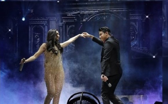 Sarah Geronimo and Daniel Padilla charm the popsters with their duet