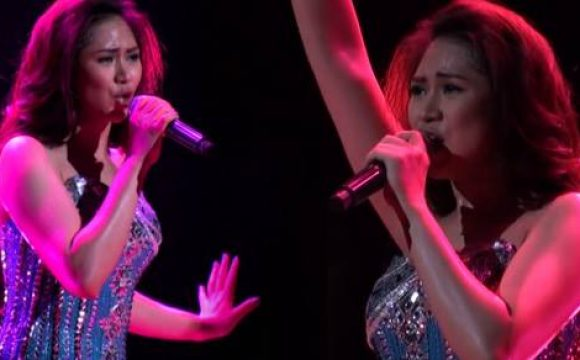 "Sarah Geronimo's Performance of Classic Song, ""Get Here"""