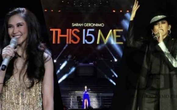 Sarah Geronimo's Outfits on THIS 15 ME Concert