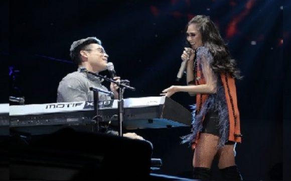 Xian Lim and Sarah Geronimo's cute performance