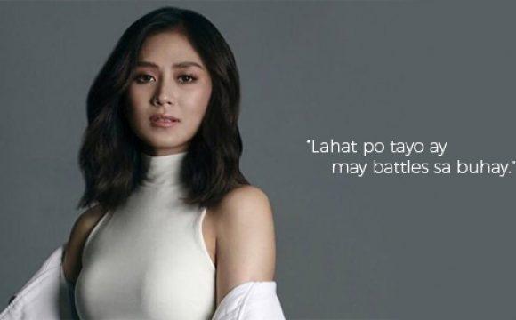 Sarah Geronimo: 'Lahat po tayo ay may battles sa buhay'