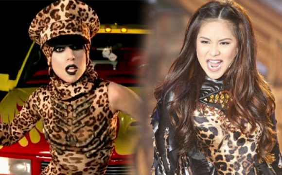 Sarah Geronimo sings Lady Gaga's hit songs