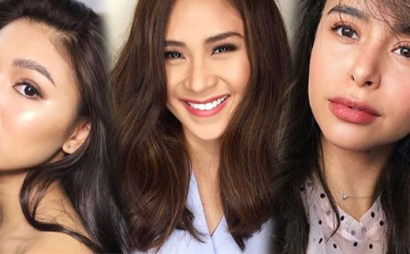 Sarah G, Nadine Lustre, and Other Celebs Try the No Make-up Make-up Look