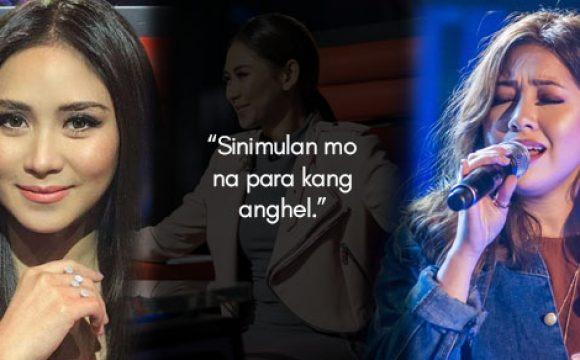 Sarah Geronimo describes Moira dela Torre during   'The Voice' audition: 'Sinimulan mo na para kang   anghel'