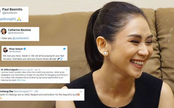 The celebrities who supported Sarah Geronimo after her Las Vegas concert