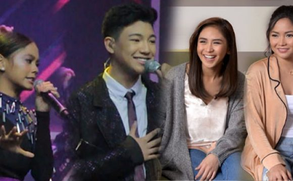 Darren Espanto and Ylona Garcia perform Sarah and Yeng's 'Kaibigan Mo'