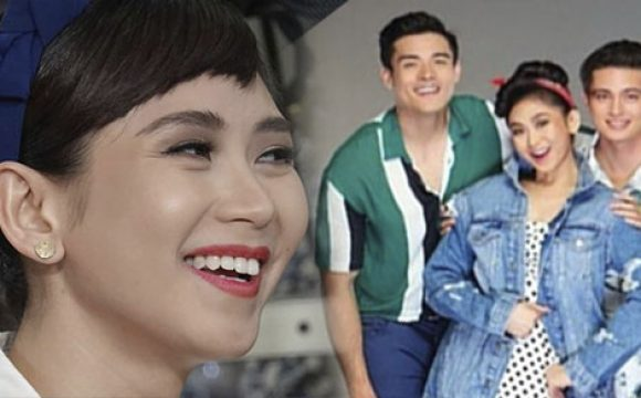 WATCH: Sarah Geronimo, James Reid and Xian Lim's fun photoshoot for '20 Again: Miss Granny'