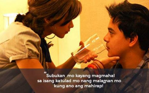 Sarah Geronimo at John Lloyd Cruz' hugot lines from 'A Very Special Love'