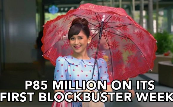 Sarah Geronimo's Miss Granny earns P85 Million on its first blockbuster week!