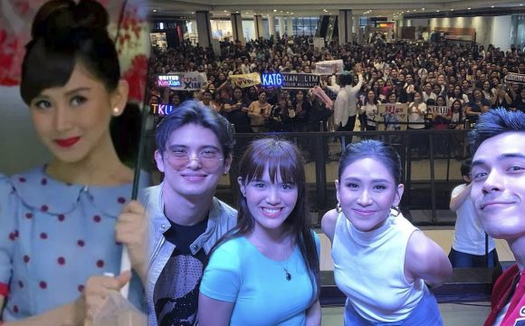 "Sarah Geronimo, Naki-bonding with Fans sa Block Screening ng ""Miss Granny""!"