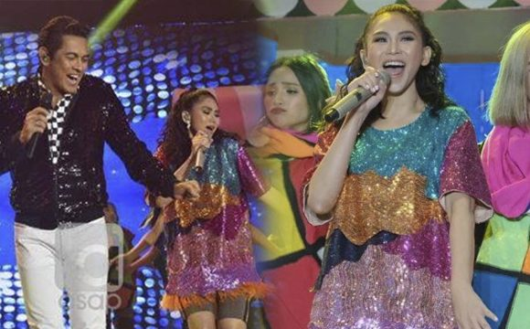 Sarah Geronimo and Gary Valenciano perform the 70's hit, 'September'