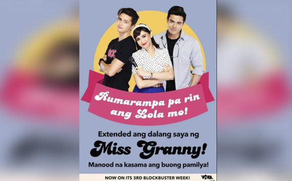 "Sarah Geronimo's ""Miss Granny,"" Hindi Magpapapigil Sa 3rd Blockbuster Week!"