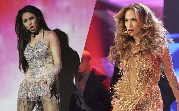 Sarah Geronimo, Nag-ala Jennifer Lopez Sa Kanyang Concert Outfit!